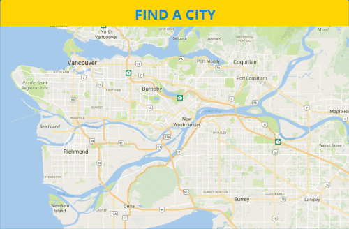 Map - Find a City